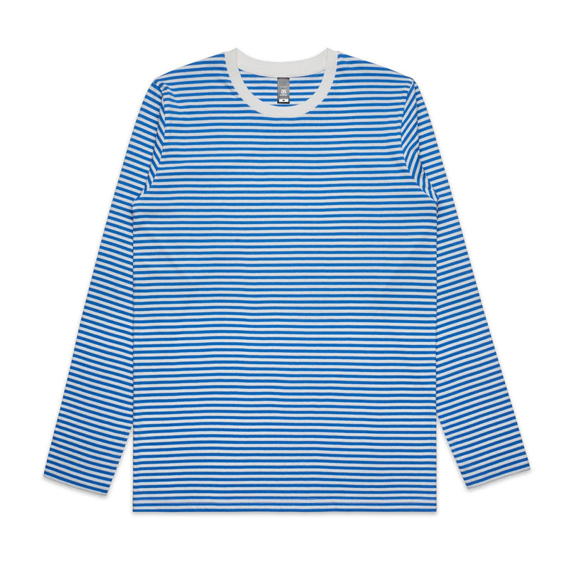 AS Colour Mens Bowery Stripe L/S Tee