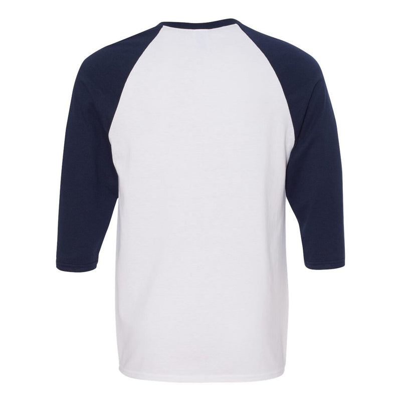 Gildan Heavy Cotton Adult 3/4 Raglan T-Shirt