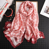 Peacock luxury brand women scarf summer silk scarves shawls lady wraps soft pashimina female Echarpe Designer beach stole bandana