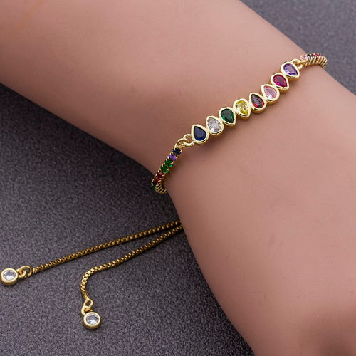 Peacock, Unique Design ,Stereoscopic, Bracelet, for Women ,Adjust Size, Colorful  ,Charm ,Bracelets, Chain ,Link Fashion Jewelry