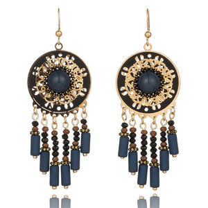 Peacock, Multiple Vintage Ethnic Dangle Drop Earrings for Women Female Jewelry Ornaments Accessories