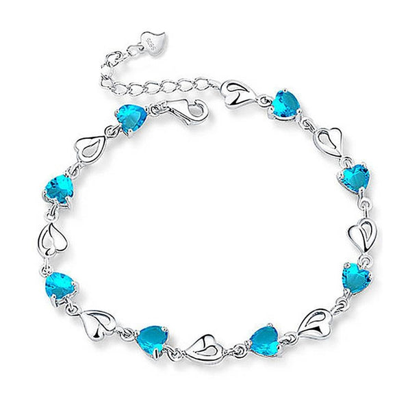 Bracelets, For Women silver Charm bracelets Gifts Fashion Jewelry.