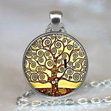 Peacock, Tree Of Life Glass ,Necklace,Pendant Jewelry, Vintage, Charm, Chain, Choker, Steampunk Jewelry Gift for Women