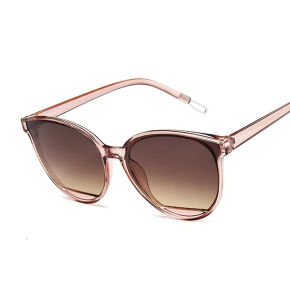 Peacock New Classic Oval Red Women Sunglasses Female Vintage Luxury Plastic Brand Designer Cat Eye Sun Glasses UV400 Fashion
