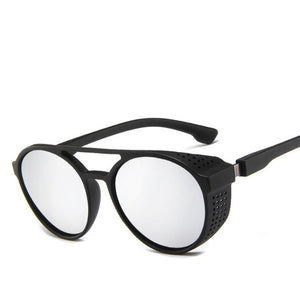 Peacock Classic Punk Sunglasses Men Brand Designer Sunglasses Men Vintage Sun Glasses for Men Punk UV400