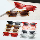 Peacock Women Small Frame Vintage Cat Eye Sunglasses UV400 Sun Shades Glasses