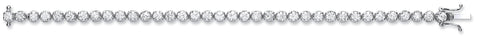 18ct White Gold 7.00ct Diamond Tennis Bracelet
