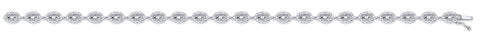18ct White Gold 2.35ct G-VS Diamond Bracelet