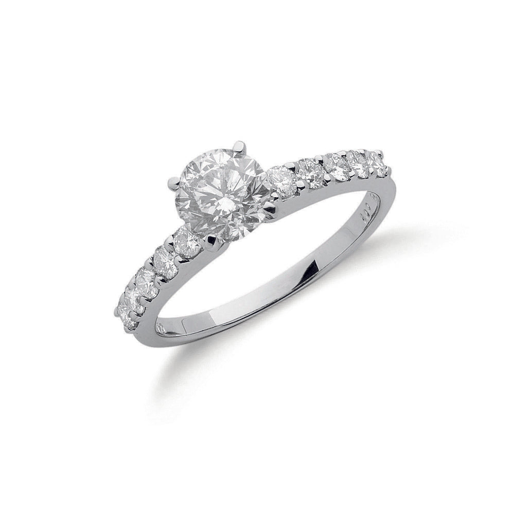 18ct White Gold 1.50ct Diamond Engagement Ring