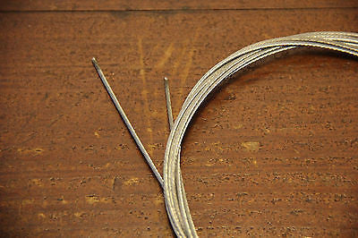 Tandem Bicycle Pedicabs Bicycle Brake Cable Inner Cable 1.5 X 3100mm 2pc