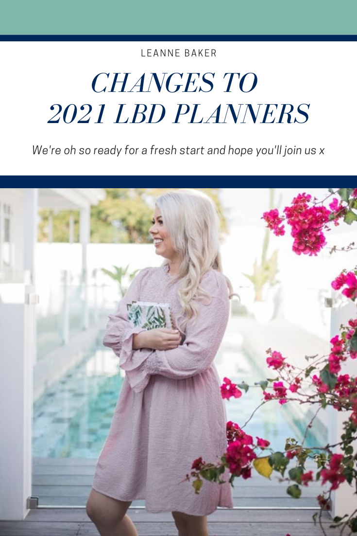 Updates to 2021 LBD planners.