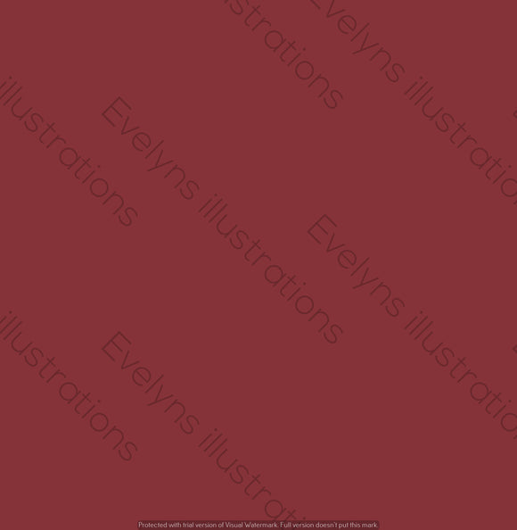 Digital Download - Solid Colour | Burgundy Wine Red