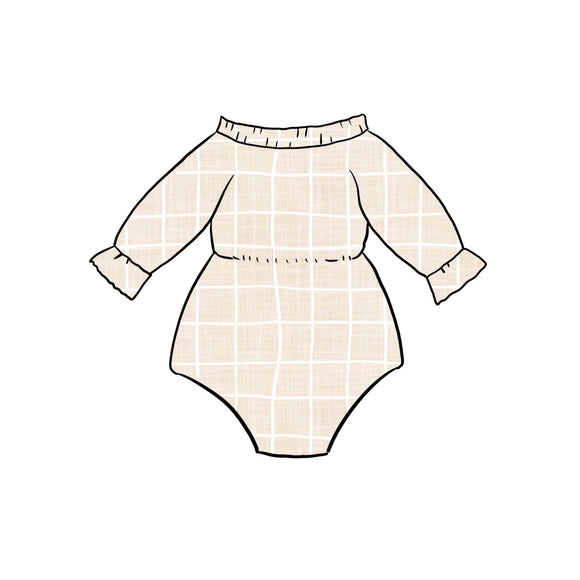PNG Mock up Long Sleeve Frill Romper (86)