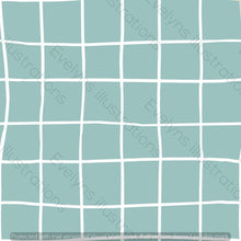 Load image into Gallery viewer, Digital Download - Non Exclusive | Medium Scale | Mint | Square Grid | 6 by 6 inches | Oh Baby Blue Collection