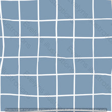 Load image into Gallery viewer, Digital Download - Non Exclusive | Medium Scale | Dusky Blue | Square Grid | 6 by 6 inches | Oh Baby Blue Collection