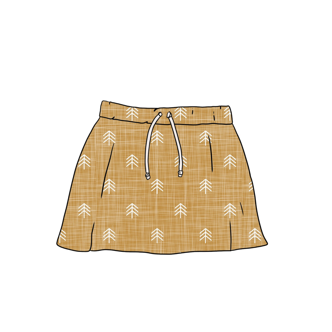 PNG & JPEG image Skirt with Ties Mock up - Evelyns Illustrations