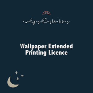 Wallpaper Extended Printing Licence
