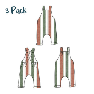 PNG & JPEG image Long Dungarees Mock ups - Evelyns Illustrations