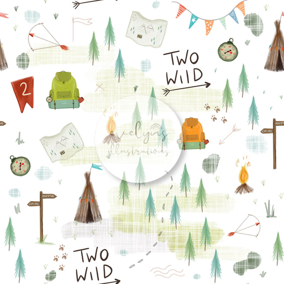 Digital Download -  Non exclusive | Two Wild Birthday |  11.4 by 11.4 inches