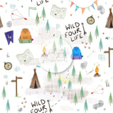 Digital Download -  Non exclusive | Wild Four Life |  11.4 by 11.4 inches