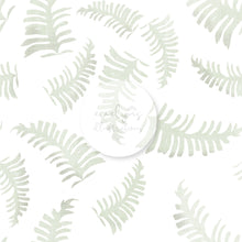 Load image into Gallery viewer, Digital Download - Non Exclusive | Medium Scale | White | The Jungle Tiger Leaves | 6 by 6 Inches Jungle Tiger Collection