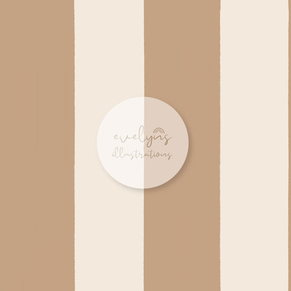 Digital Download - Non Exclusive | Medium Scale | Sand Stripes | 6 by 6 inches (1.5 inch stripe width)