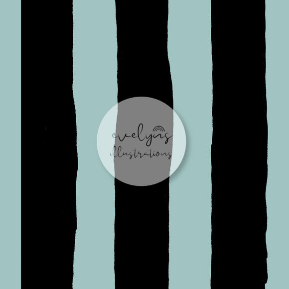 Digital Download - Non Exclusive | Medium Scale | Stripes Blue | 7 by 7 inches