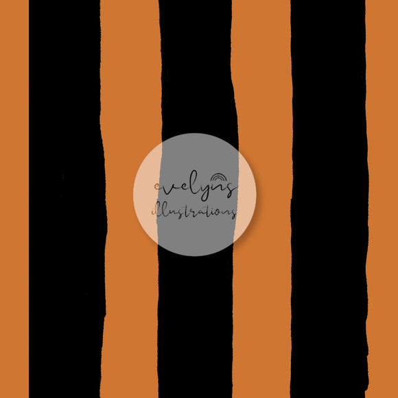 Digital Download - Non Exclusive | Medium Scale | Stripes Orange | 7 by 7 inches