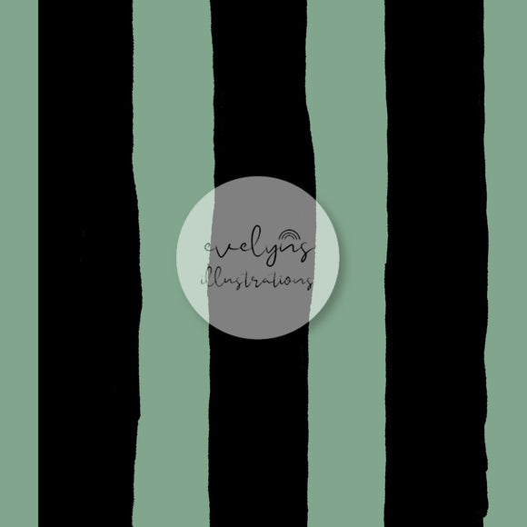 Digital Download - Non Exclusive | Medium Scale | Stripes Green | 7 by 7 inches