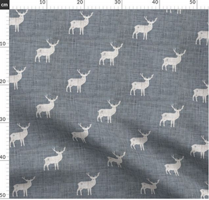 Digital Download - Non Exclusive | Medium Scale | Navy 2 PACK | Stags | 6 by 6 Inches