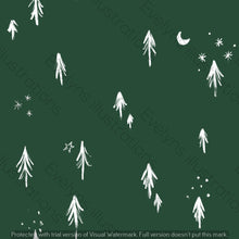 Load image into Gallery viewer, Digital Download - Non Exclusive | Medium Scale | Forest Green 2 PACK | Little Forest Trees | 6 by 6 Inches - Evelyns Illustrations