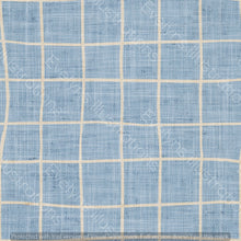 Load image into Gallery viewer, Digital Download - Non Exclusive | Medium Scale | Denim Light Blue | Square Grid | 6 by 6 inches