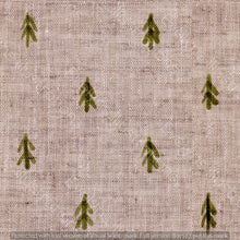 Load image into Gallery viewer, Repeat Illustrated Pattern Digital Download - Non Exclusive | Medium Scale | Green | Little Linen Trees | 5.25 by 5.25 Inches - Evelyns Illustrations