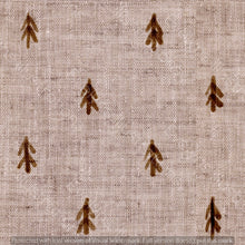 Load image into Gallery viewer, Repeat Illustrated Pattern Digital Download - Non Exclusive | Medium Scale | Brown | Little Linen Trees | 5.25 by 5.25 Inches - Evelyns Illustrations