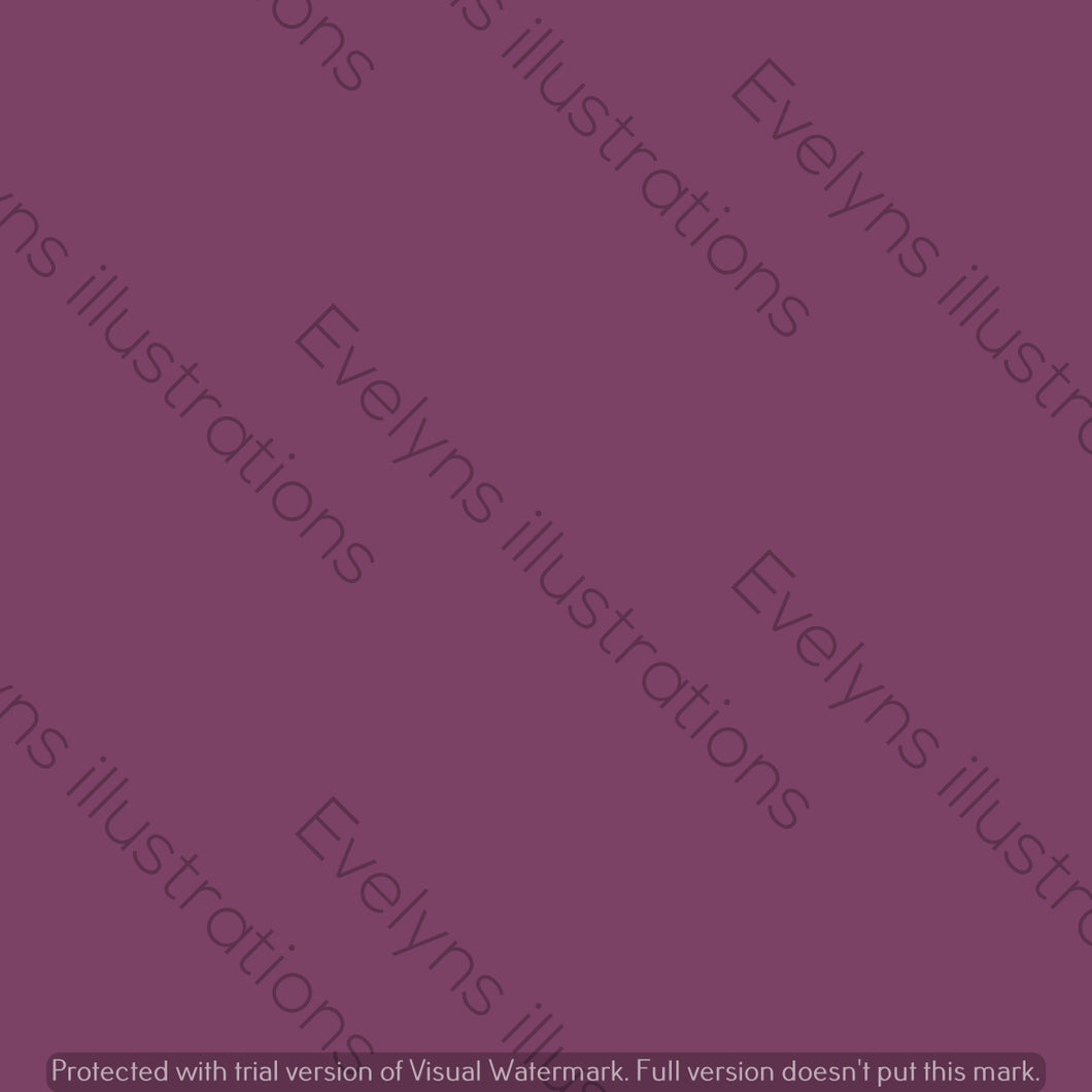 Digital Download - Solid Colour | Deep Purple - Evelyns Illustrations