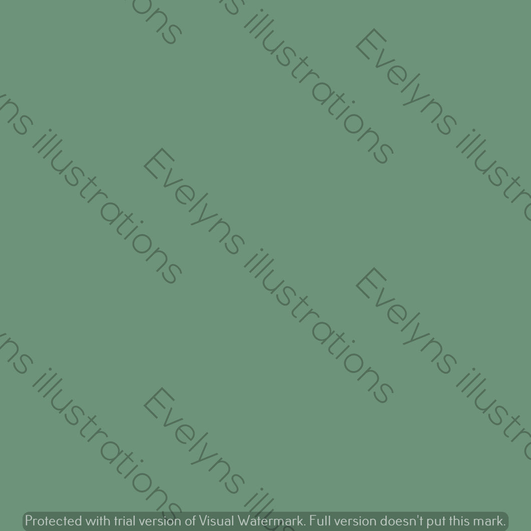 Digital Download - Solid Colour | Meadow Green - Evelyns Illustrations