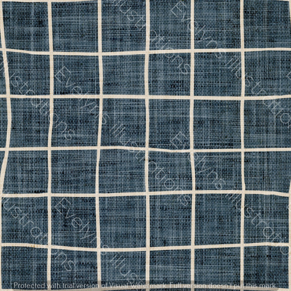 Digital Download - Non Exclusive | Medium Scale | Denim Dark Blue | Square Grid | 6 by 6 inches