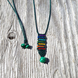 Rainbow Necklace - Rainbow Serpentine