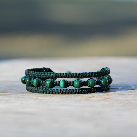 Earthy Embrace with Malachite
