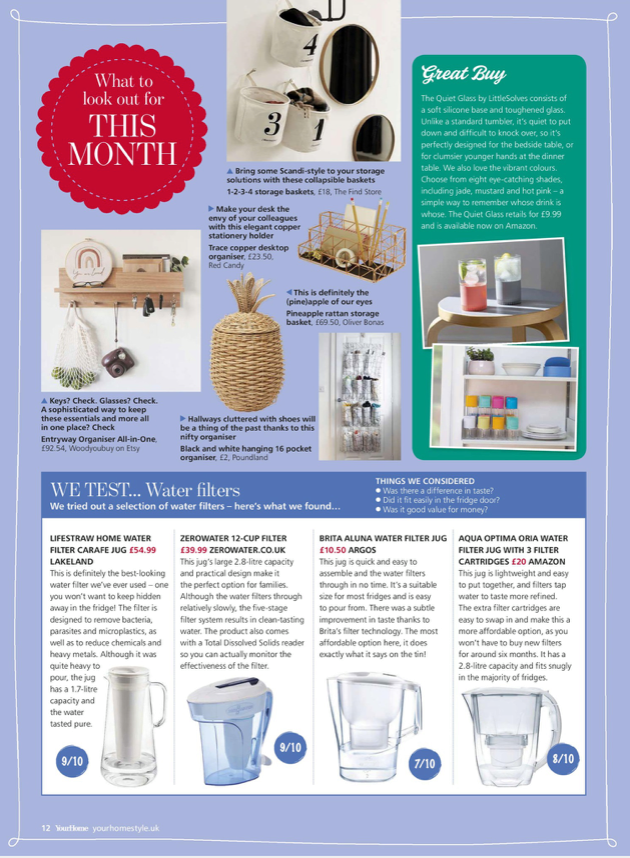 Entryway shelf has been featured at Your Home Magazine UK - Woodyoubuy