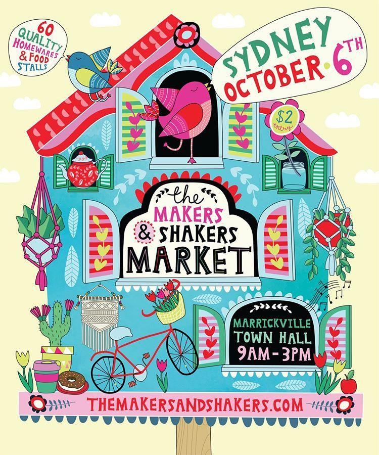 Woodyoubuy will be at The Makers and Shakers Market! - Woodyoubuy