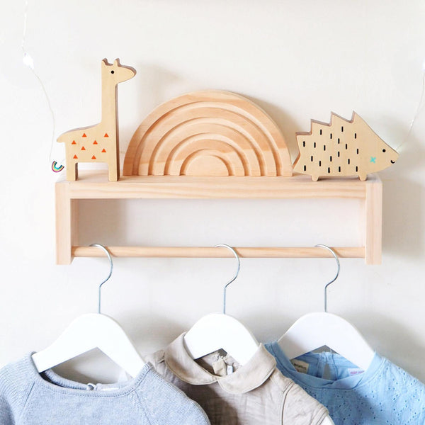 Clothes Rack for Kids - Woodyoubuy