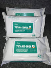 Load image into Gallery viewer, 75% Alcohol Wipes 40Pcs