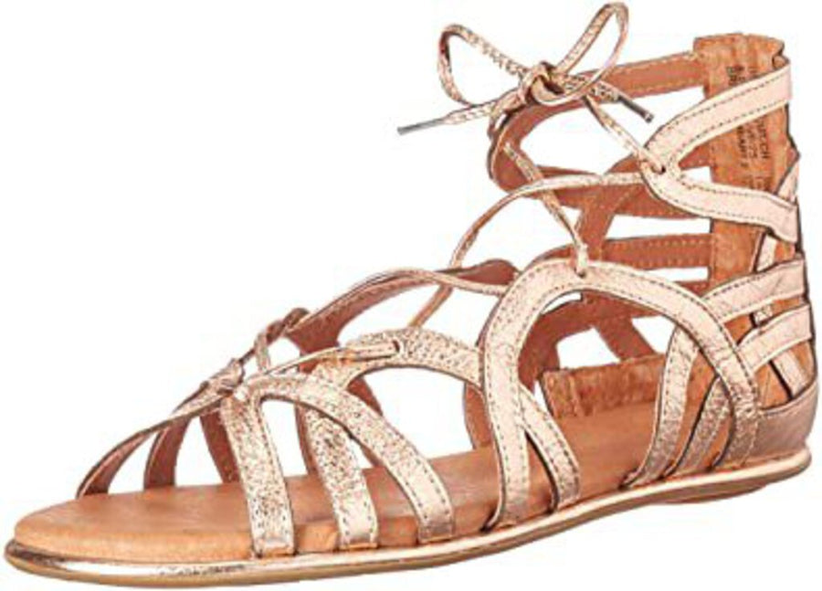 Break my heart flat sandal
