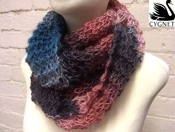 Cygnet Boho Spirit - Super Easy Knit Cowl (Knit)