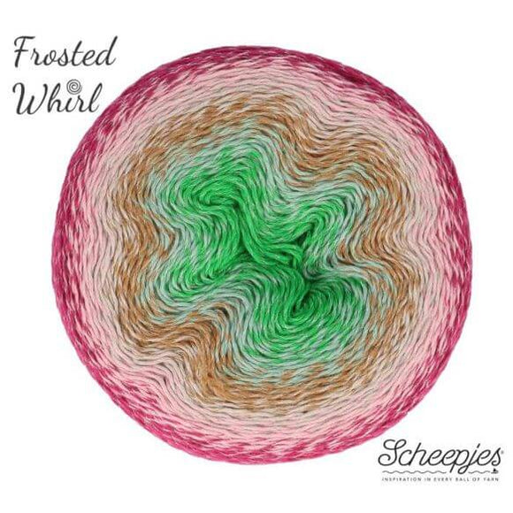 Scheepjes Frosted Whirl - 322 Skinny Scream