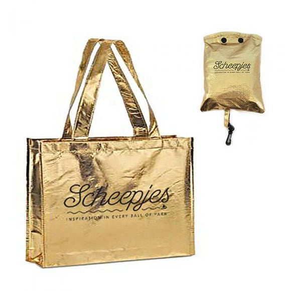 Scheepjes Foldable Gold Bag
