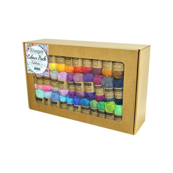 Scheepjes Cahlista Colour Pack - 109 x 15g
