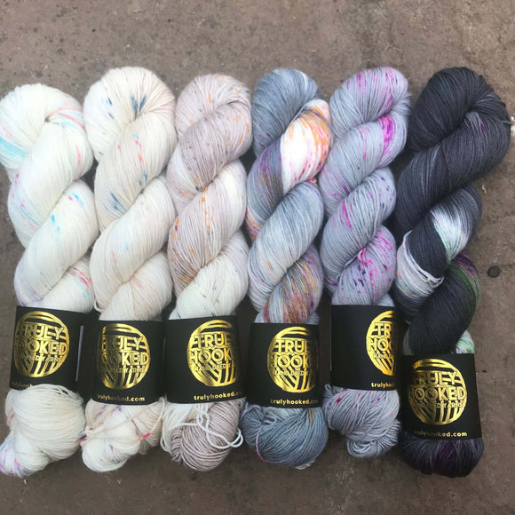 Truly Hooked - Neutral Fade Set 6 skeins