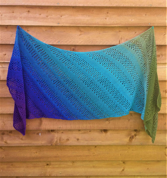 Summer Breeze Shawl Pattern - Instant Download
